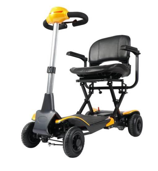 EeZeeGo-Mobility-Scooter-Yellow