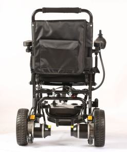 EeZeeGo-LW1 Folding Electric Wheelchair from behind