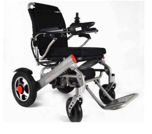 EeZeeGo-LW2 Silver Electric Wheelchair