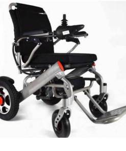 EeZeeGo-LW2 Silver Electric Wheelchair