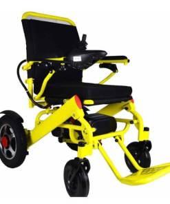 EeZeeGo-LW2 Yellow Folding powerchair
