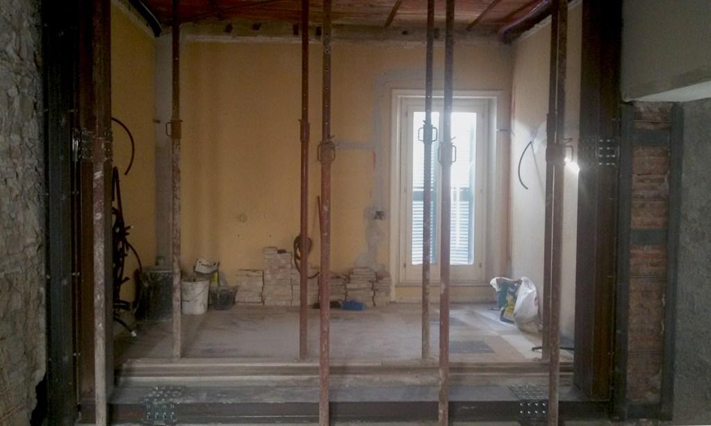 Muri portanti abbatterli si pu ef archidesign - Apertura di una porta in un muro portante interno ...