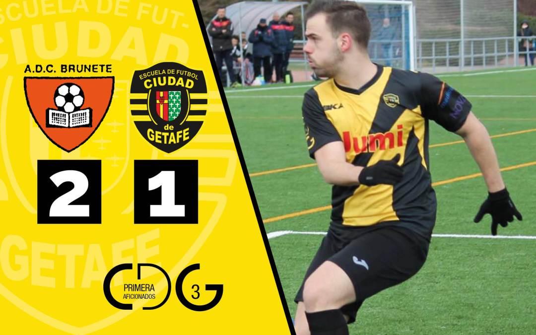 ADC Brunete 2-1 Ciudad de Getafe