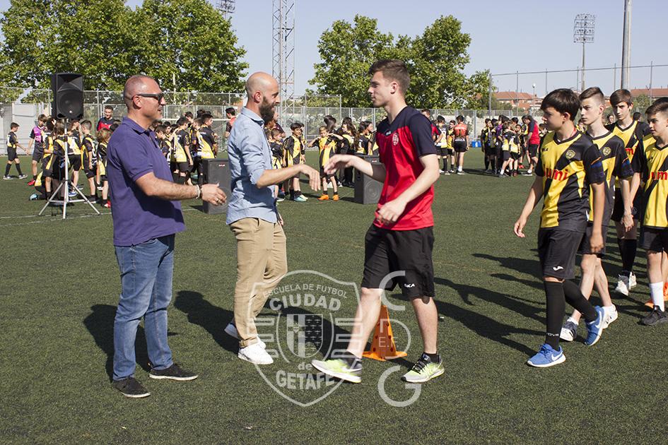 Presentación de las nuevas equipaciones temporada 2018-19 - E.F. Ciudad de Getafe
