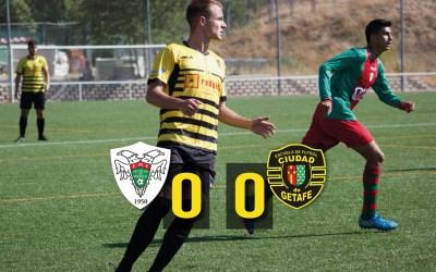 Águilas de Moratalaz 0 – 0 Ciudad de Getafe