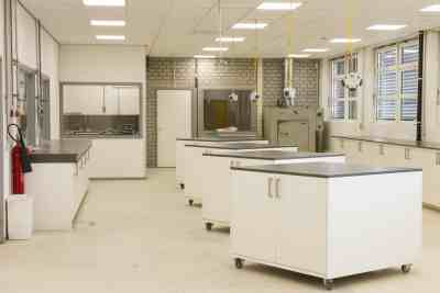 Cleanroom north view