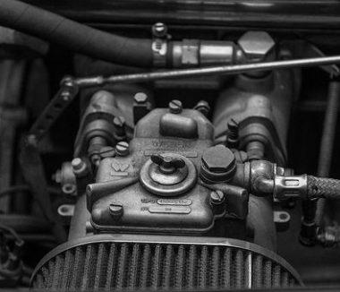 truck's engine