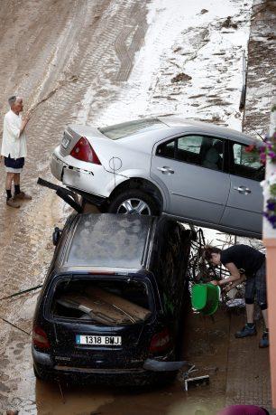 4Graves daños en Tafalla, Olite y Pueyo por la intensas lluvias registradas desde ayer