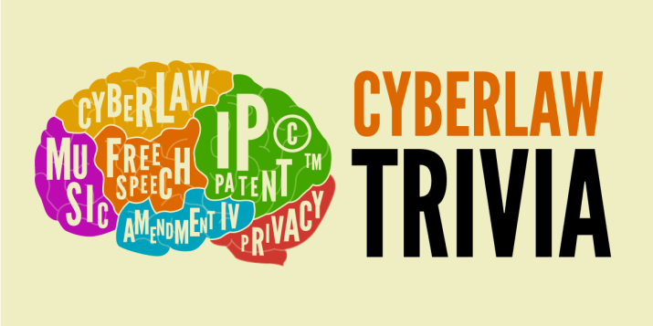 Bravo aux gagnants de la 13e soirée annuelle Cyberlaw Trivia Night de l'EFF