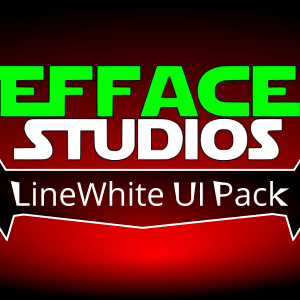 UI Pack: LineWhite Onscreen Controls
