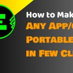 How to Make Any Software/Game Portable Easily in Few Clicks