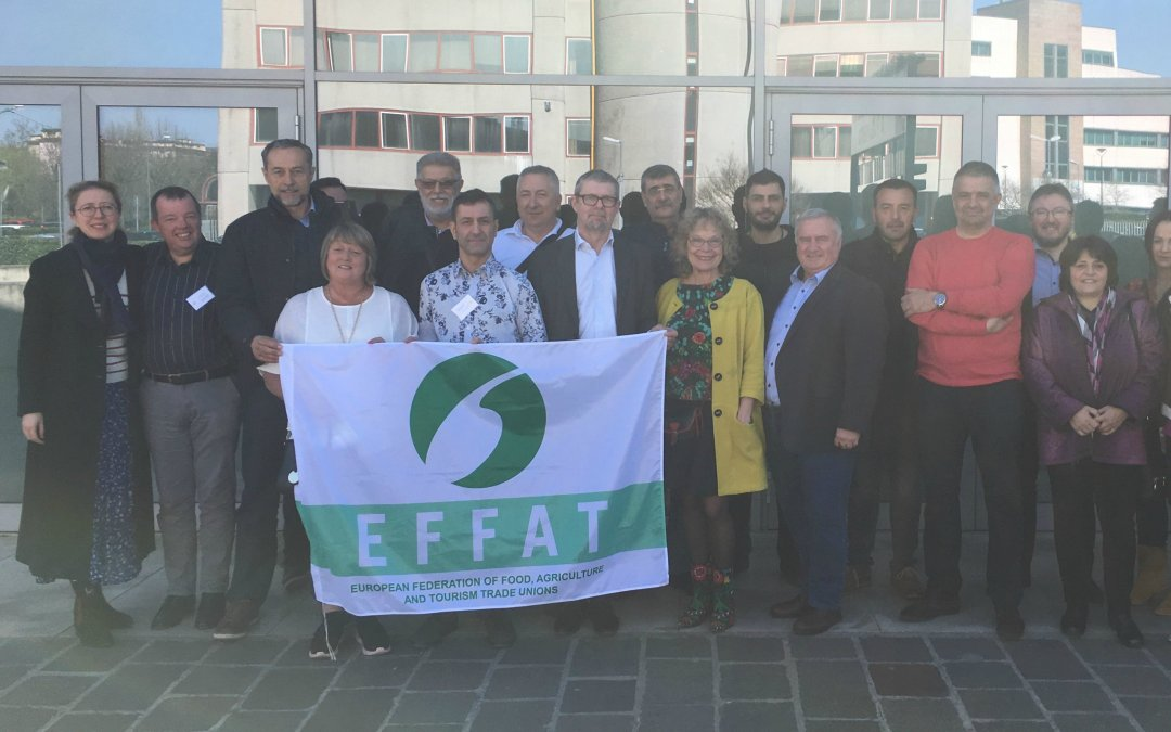 Food workers press for changes in favour of climate protection