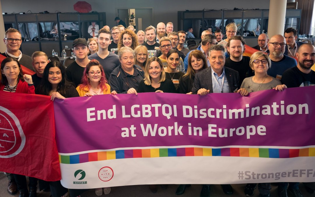 EFFAT advances LGBTQi rights at work in 1st Side Meeting ahead of Congress