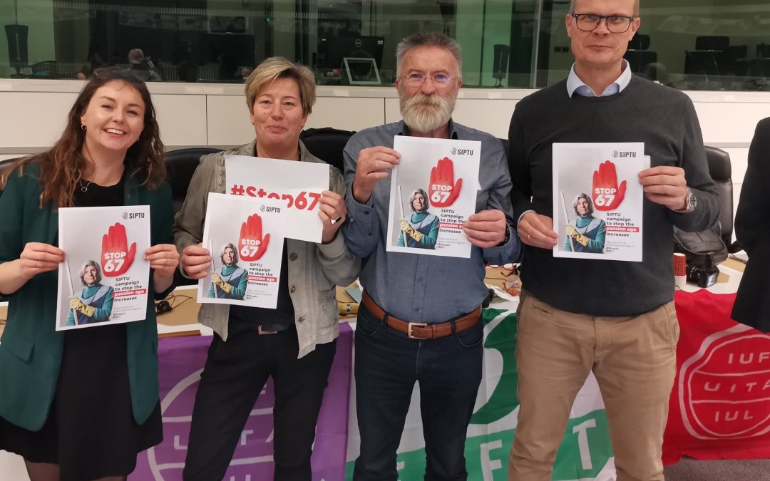 SIPTU solidarity on show at EFFAT ExCom