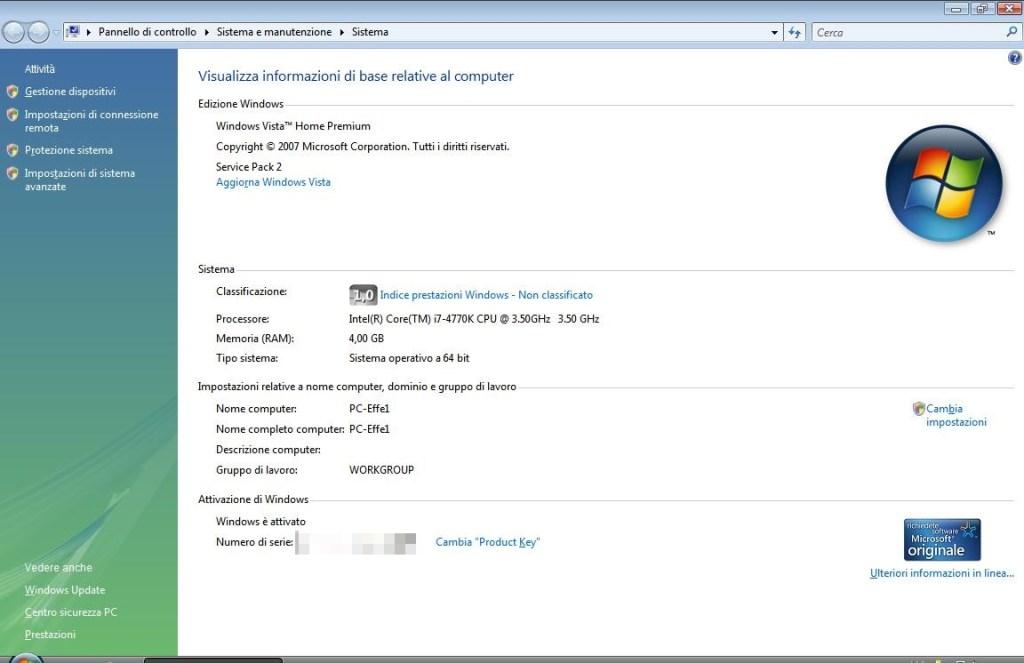 Windows Vista - Sistema SP2