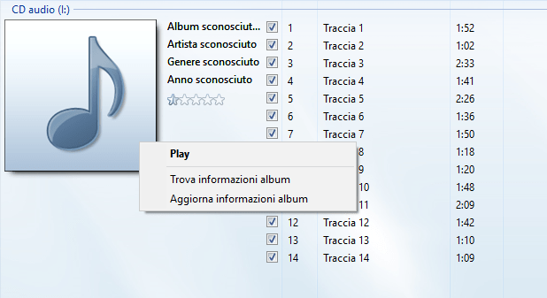 Windows 10 - Windows Media Player - Ricercaormazioni