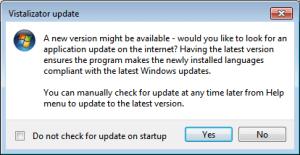 Windows 7 - Update Vistalizator