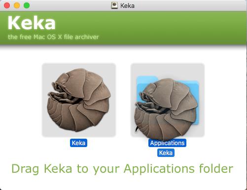 Mac Os - Trascinamento Keka 02