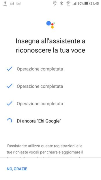 Google Home - Voice Match - Ancora Ehi Google