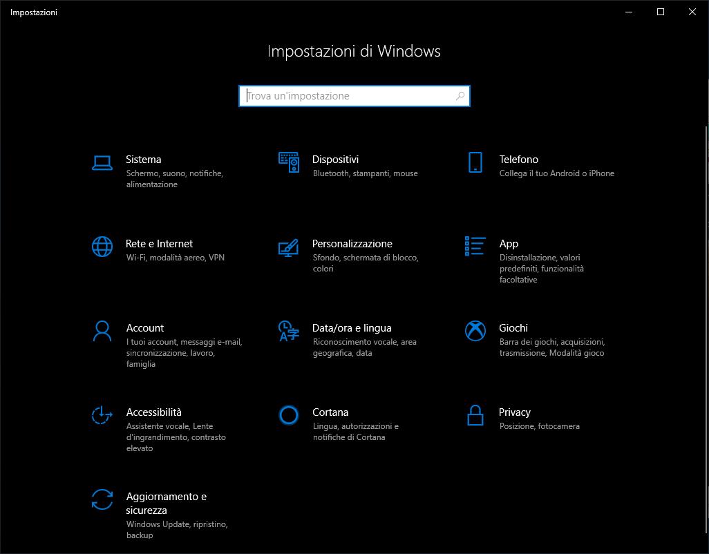 Microsoft Windows 10 - v1809 - Dark Theme - Microsoft Store