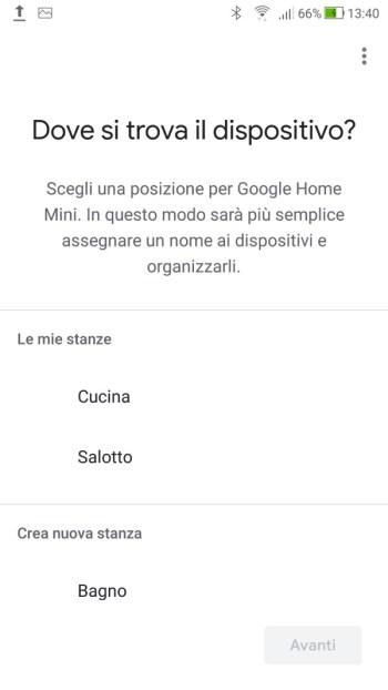 Google Home - Dove si trova il mio dispositivo?