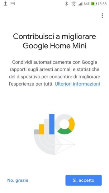 Google Home - Contribuisci Migliorare Google Home