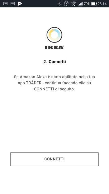 Amazon Alexa - App - Skill Ikea Tradfri - Connetti 02