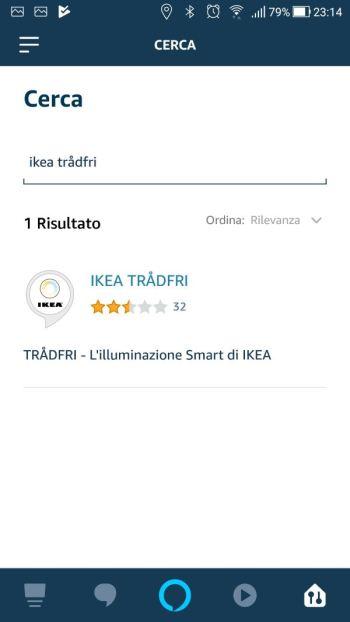 Amazon Alexa - App - Skill Ikea Tradfri
