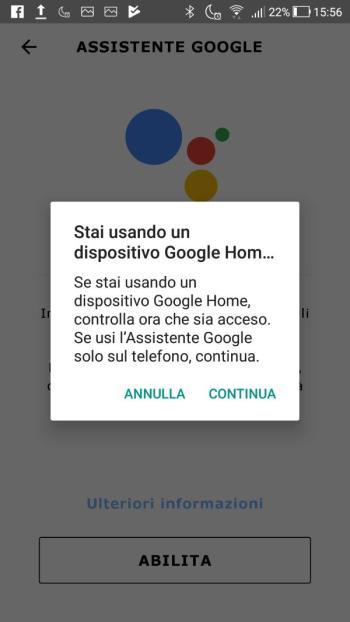 Ikea TRÅDFRI - App - Accendere Google Home