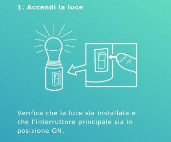 Ikea TRÅDFRI - App - Accoppiamento lampadina gateway - Aggiungi Luce - Accendere luce