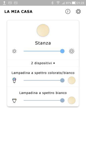 Ikea TRÅDFRI - App - Home Dispositivi Collegati