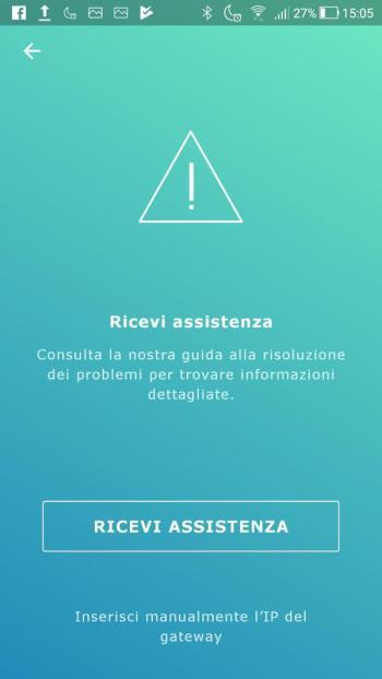 Ikea TRÅDFRI - App - Ricevi assistenza