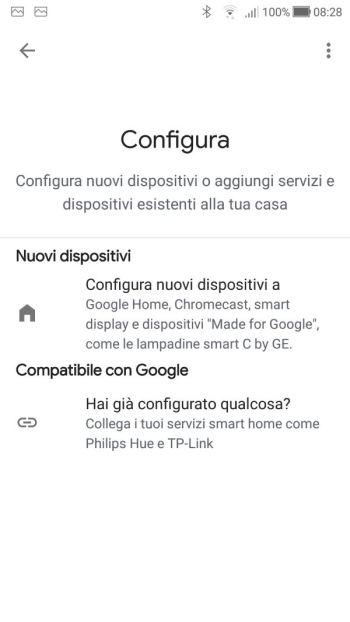 Google Home - Configura