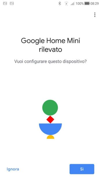 Google Home - Google Home Rilevato
