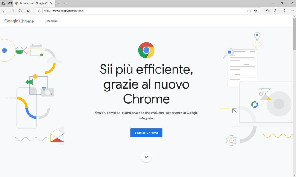 Google Chrome - Sito Download
