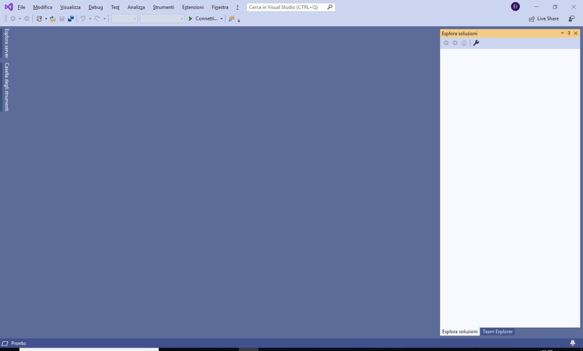 Microsoft Visual Studio 2019 - IDE