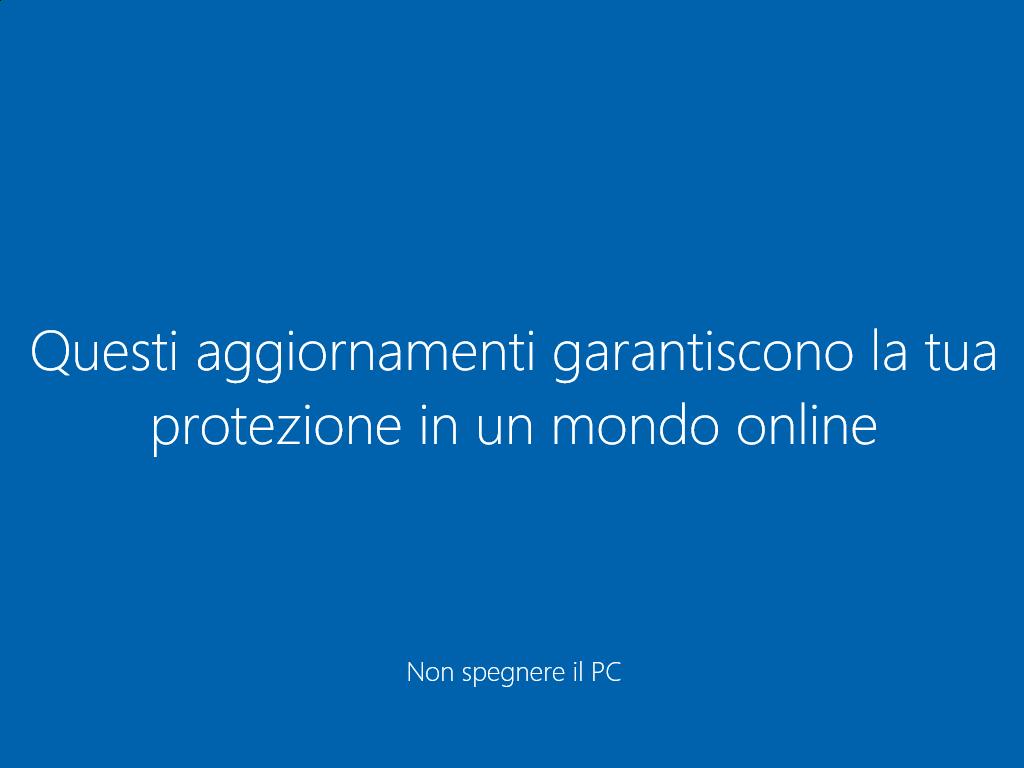 Windows 10 - Questi aggirnamenti gaantiscono la tua protezione in un mondo online