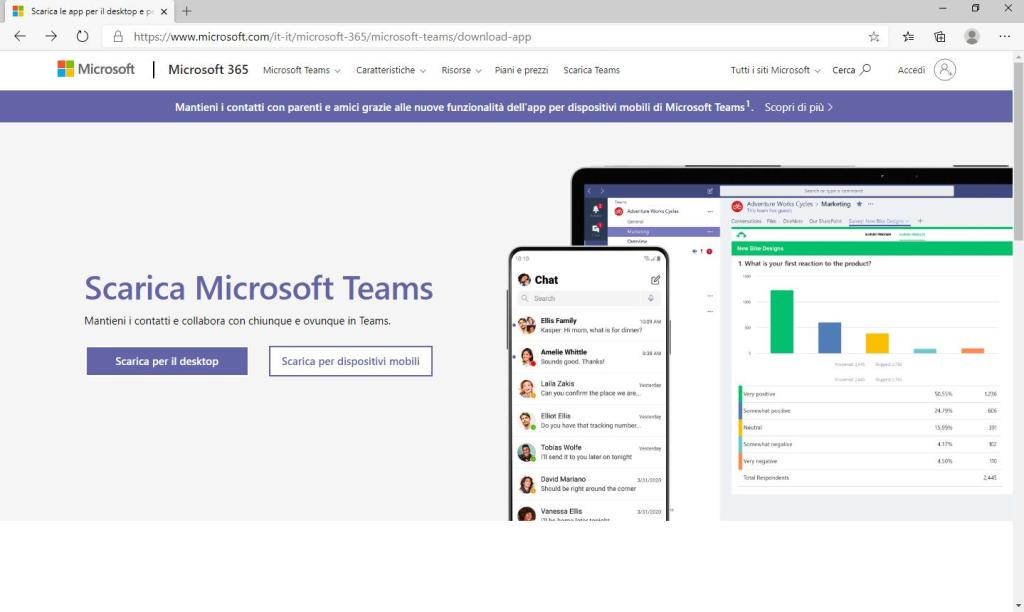 Microsoft Teams - Home Download