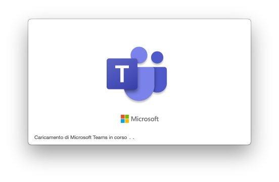 Microsoft Teams macOS - Caricamento