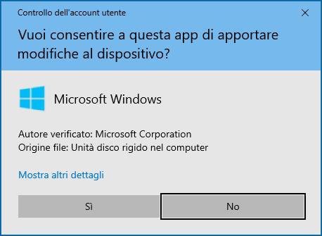 Windows 10 - 20H2 - UAC