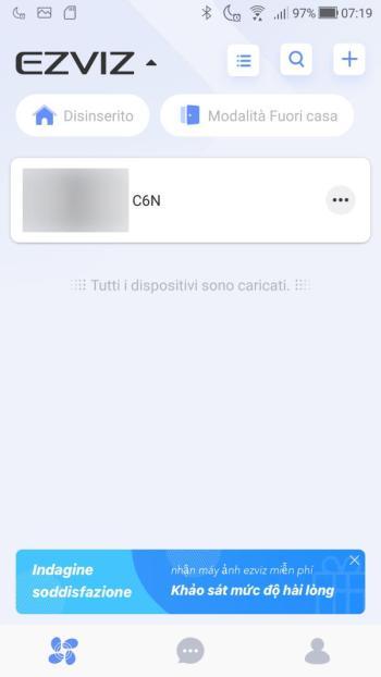 App EZVIZ - Dispositivi