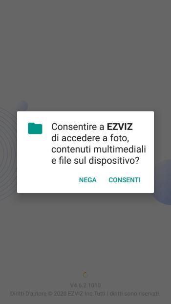 EZVIZ - Consenso App