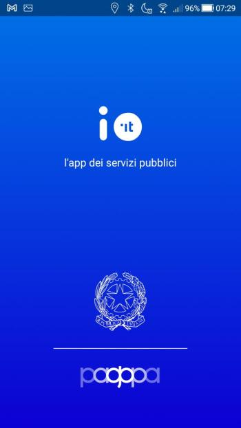 App IO - Avvio