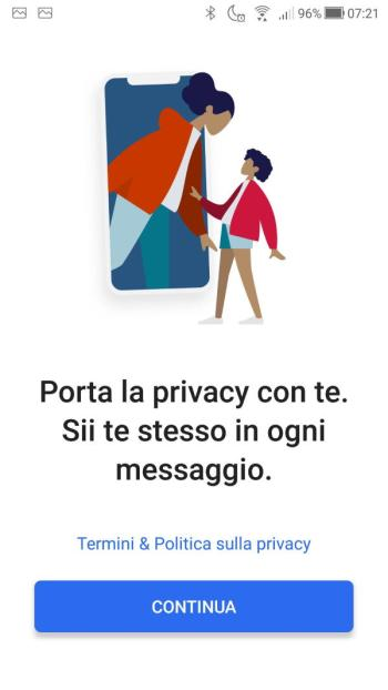 App Signal - Porta la privacy con te