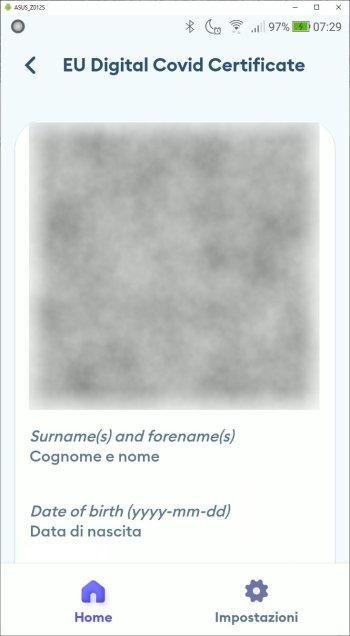 Immuni - EU Digital Covid Certificate - Prima parte