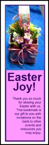 Easter Bookmark