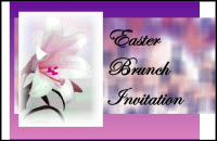 Brunch Invitation