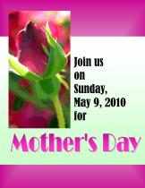 Mothers Day Invitation #3 IMAGE