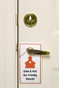 Door hangers are great outreach tools!