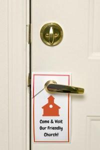 Door hangers are great outreach tools!